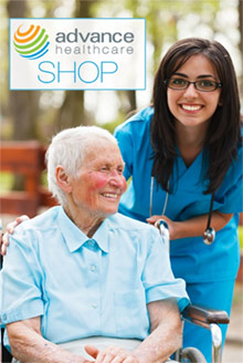Picture of advance healthcare shop catalog from Advance Healthcare Shop catalog