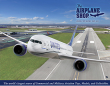 Picture of airplane shop from The Airplane Shop - Daron Worldwide catalog