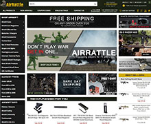 Picture of airrattle catalog from AirRattle catalog