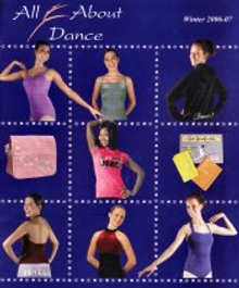 Picture of pointe shoes from All About Dance catalog