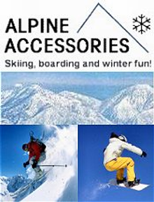 Picture of ski snowboard jackets from Alpine Accessories catalog