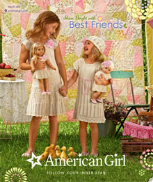 Picture of american girl catalog from American Girl catalog