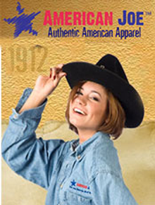 Picture of all American clothing from American Joe Apparel - Wholesale catalog