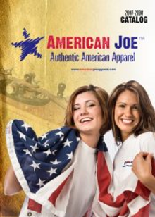 Picture of American made clothing from American Joe Apparel - Old catalog