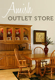 Picture of amish outlet store from Amish Outlet Store catalog
