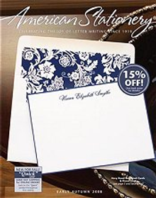 Picture of american stationery from American Stationery catalog