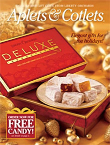 Picture of fruit candy from Aplets & Cotlets catalog