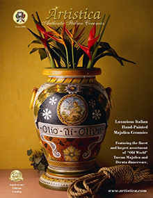 Picture of Wholesale Italian pottery from  Artistica catalog