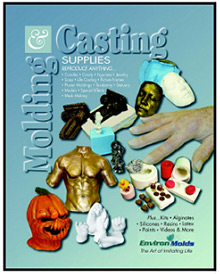 Picture of art molds from ArtMolds catalog