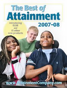 Picture of life skills curriculum from Attainment Company IEP Resources catalog