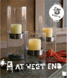 Picture of metal garden art from At West End catalog