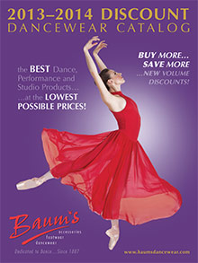 Picture of discount dance from Baum's Dancewear catalog