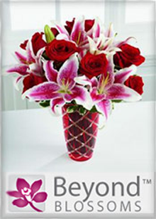 Picture of online flowers delivered from Beyond Blossoms catalog