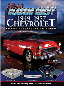 Picture of classic Chevy car parts from Bob's Classic Chevy catalog