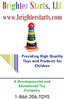 Picture of toddler educational toys from Brighter Starts catalog