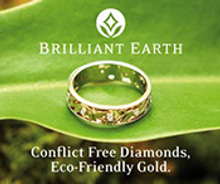 Picture of canadian diamonds from Brilliant Earth catalog