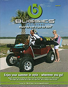 Picture of golf cart catalog from Buggies Unlimited catalog