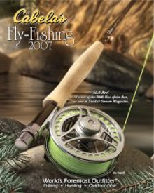 Picture of fly fishing equipment from Cabela's Fly Fishing Catalog  catalog