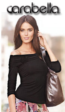 Picture of sexy evening dresses from Carabella Catalog - Only at Newport News catalog