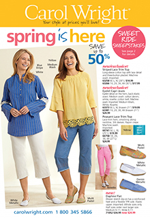 Picture of carol wright catalog from Carol Wright - AmeriMark Direct catalog