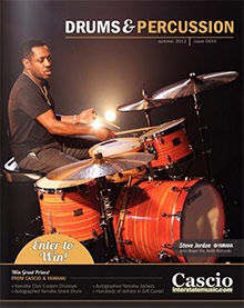 Picture of drum sets from Cascio Interstate Drums & Percussion catalog