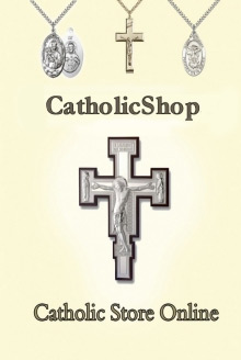 Picture of rosary cards from Catholic Shop - RosaryCard.net catalog
