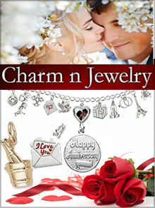 Picture of 14k gold charms from Charm N Jewelry catalog