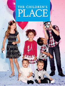 Picture of childrens place from The Children's Place catalog