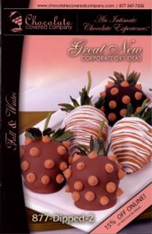 Picture of unique chocolate gift from Chocolate Covered Company catalog