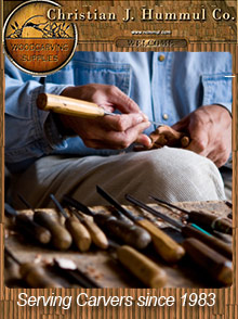 Picture of wood carving patterns from Christian J. Hummul Company catalog