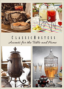 Picture of home decor shopping from Classic Hostess - DYNALOG ONLY catalog