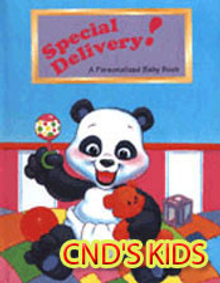 Picture of kid's personalized gifts from CnD's Kids catalog