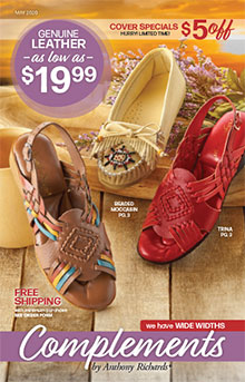 Picture of discount womens shoes from Complements by Anthony Richards-AmeriMark Dir catalog