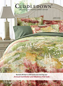 Picture of cuddledown catalog from Cuddledown - Potpourri Group catalog