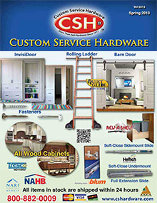 Picture of custom service hardware from Custom Service Hardware catalog
