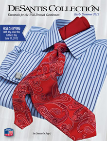 Picture of best ties from DeSantis Collection catalog