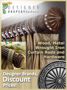 Picture of designer drapery hardware from Designer Drapery Hardware catalog