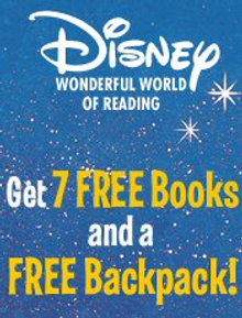 Picture of Disney storybooks from Disney Wonderful World of Reading catalog