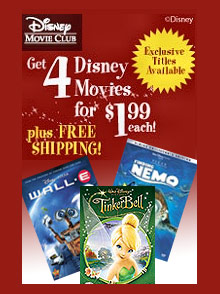 Picture of disney dvd movies from Disney Movie Club