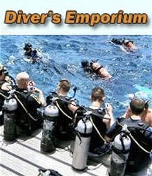 Picture of scuba tanks for sale from Diver's Emporium - LeisurePro.com catalog