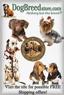 Picture of dog themed gifts from Dog Breed Store catalog