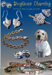 Picture of dog Italian charms from DogGone Charming catalog