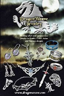 Picture of gothic jewelry from DragonWeave Jewelry catalog