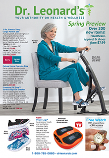 Picture of dr leonards catalog from Dr. Leonard's - AmeriMark Direct catalog