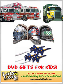 Picture of fire truck movies from DVD Gifts For Kids catalog