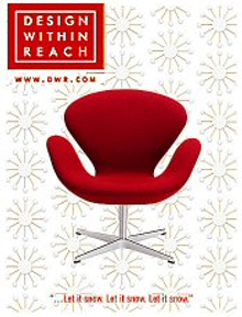 Picture of contemporary furniture from Design Within Reach -1 catalog