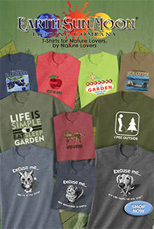 Picture of animal t shirt from Earth Sun Moon T Shirt Company catalog