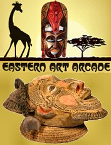 Picture of African masks from Eastern Art Arcade Wholesale catalog
