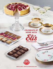 Picture of eli's cheesecake catalog from Eli's Cheesecake