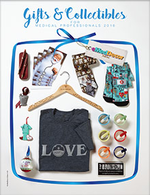 Picture of medical gifts from eMedDecor & More.com - Healthcare Logistics catalog